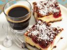 Chocolate and Cherry Cheesecake Squares recipe