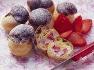 Chocolate and Strawberry Choux Buns recipe