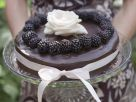 Chocolate Cake with Blackberries recipe
