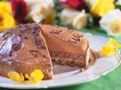 Chocolate Cake with Marzipan Filling and Nougat Cream recipe