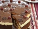 Chocolate Cherry Cream Cake recipe