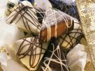 Chocolate-Dipped Gingerbread Triangles recipe