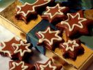 Chocolate Dipped Star Cookies recipe