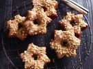 Chocolate Hazlenut Doughnut Stars recipe