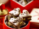 Chocolate Heart Cookies with Creamy Pistachio Filling recipe
