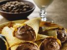 Chocolate Mousse Crepes with Coffee Cream recipe