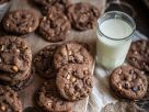 Chocolate Nut Cookies recipe