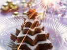 Chocolate Nut Star Cake recipe