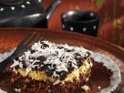 Chocolate Topped Ginger Coconut Squares recipe