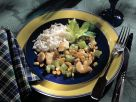 Chopped Chicken Stew with Rice recipe