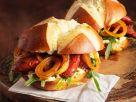 Chorizo and Arugula Sandwiches on Pretzel Rolls recipe