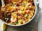 Chorizo and Seafood Rice Dish recipe