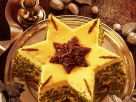 Christmas Cake with Eggnog and Pistachios recipe