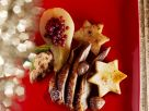 Christmas Goose with Lingonberry Pears recipe