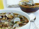 Clam and Meatball Broth recipe