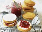 Classic Cream and Jam Cakes recipe