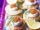 Classic Salmon Canapes recipe
