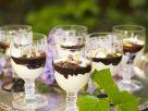 Coconut and Chocolate Cream with Pistachios recipe