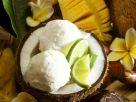 Coconut and Lime Ice Cream recipe
