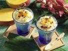 Coconut and Mango Quark recipe
