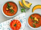 Cold Tomato Melon Soup recipe