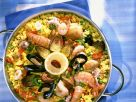 Colorful Mixed Paella recipe
