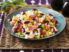 Colorful Rice Salad with Ham recipe
