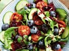 Colorful Salad with Blueberries recipe