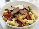 Colourful Pasta Salad with Beef recipe
