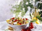 Colourful Penne Bowl recipe