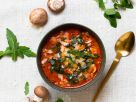 Colourful Pizza Soup recipe