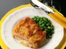Cordon Bleu with Peas recipe