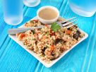 CousCous Salad with Lemon Herb Dressing recipe