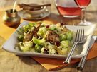 Couscous with Turkey, Brussels Sprouts and Cranberries recipe