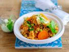 Couscous with Yogurt and Vegetables recipe