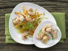 Crayfish Tails on Carrots recipe
