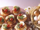 Cream Cheese and Salmon-Filled Puffs recipe