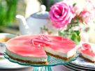 Cream Cheese Gateau with Red Fruit recipe