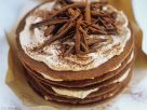 Chocolate and Marzipan Stack recipe