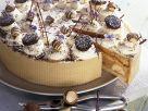Creamy Banana Cake with Chocolate, Coffee and Macadamia Nuts recipe