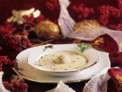 Creamy Christmas Goose Soup with Dumplings recipe