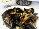 Creamy Cooked Mussels recipe