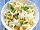 Pasta with Herb Sauce recipe