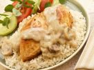 Creamy Mushroom Chicken Breasts recipe