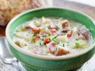 Creamy Potato Soup with Ham recipe