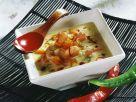 Creamy Pumpkin Soup with Shrimps recipe