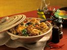 Creole Chicken Stew with Corn, Beans and Bananas recipe