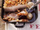 Crispy Roast Pork and Dumplings recipe
