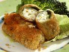 Crispy Savoy Cabbage Rolls with Feta Filling recipe