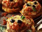 Crostini with Pork and Mozzarella recipe